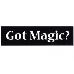 Got Magic? Stickers
