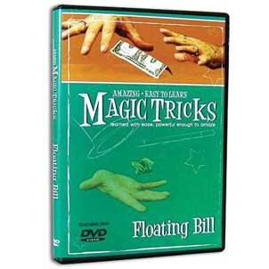 Amazing Easy To Learn Magic Tricks- Floating Bill (with gimmicks