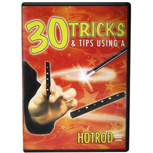 30 Tricks HotRod DVD in Standard Plastic Case With 2 HOTRODS