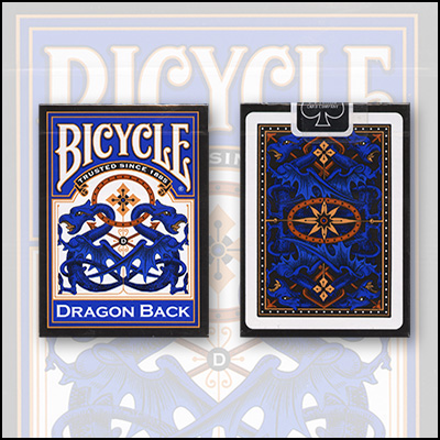 Bicycle Blue Dragon Deck Limited Edition