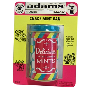 SNAKE MINT CAN - SS ADAMS