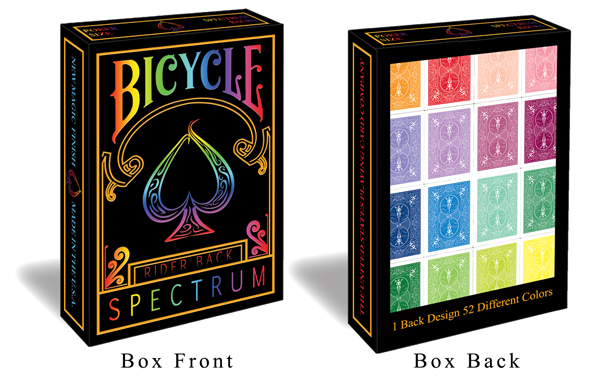 Bicycle Spectrum MultiColored Deck