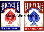 Bicycle (New box) Back Playing Cards - Poker Size (12)Qty